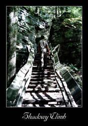 Shadowy Climb by DarkRaven1