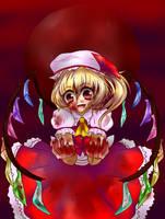 EoSD:Flandre Scarlet by ainokiseki
