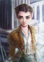 Game of thrones - arya stark by chisien