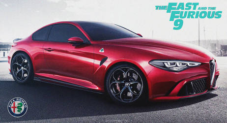 Alfa Romeo GTV '2022 Fast And Furious 9 by ArtConcept777