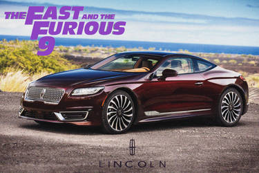 Lincoln Mark IX Coupe '2020 Fast And Furios 9 by ArtConcept777