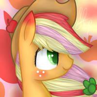 Applejack Rainbow Power by AppleJackS2