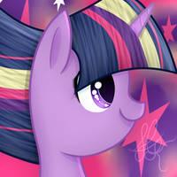 Twilight sparkle Rainbow Power by AppleJackS2