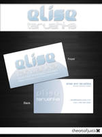 Elise Logo and Business Card by just-is