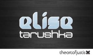 Elise Tarushka Logo by just-is