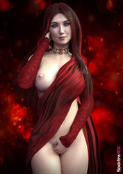 Melisandre 'The Red Woman' - Game Of Thrones by Spektra3DX