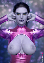 Widowmaker Redux (Overwatch) by Spektra3DX