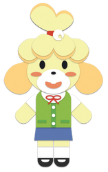 Isabelle Papercraft by Limey-Boy