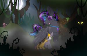 Lost Little Foals by FlyingLimes