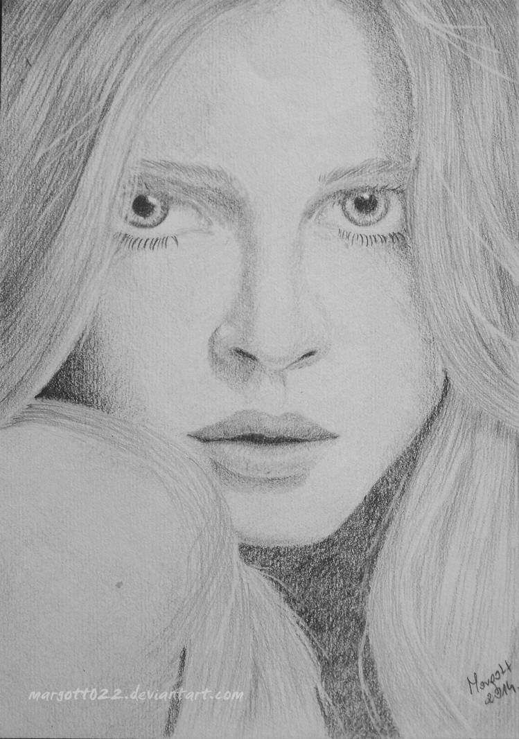 Girl from magazine II by Margott022