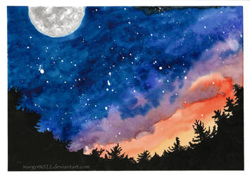 Dreamers under stars by Margott022