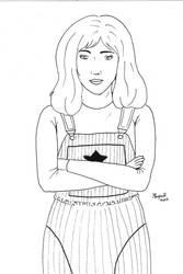 INKTOBER DAY 26 : SARAH JANE SMITH by Margott022