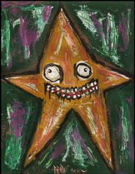Weirdo Star by justinaerni