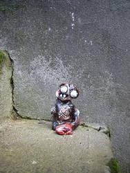 Mutant Monkey by justinaerni