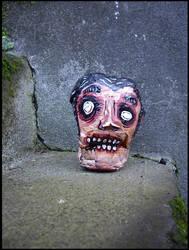 Zombie Head by justinaerni