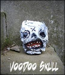 Voodoo Skull by justinaerni