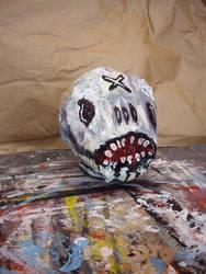 Voodoo Skull II by justinaerni