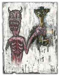 Crucifix by justinaerni