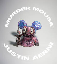 Murder Mouse Bust by justinaerni