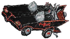 1960s BatMobile by justinaerni