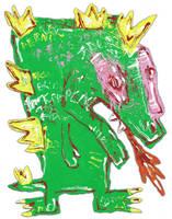 Godzilla by justinaerni
