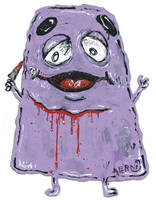 Grimace by justinaerni
