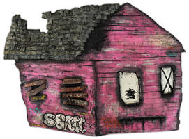 sad house by justinaerni