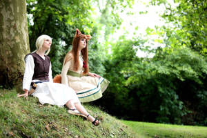 Spice and Wolf, Horo and Nora by Mondkaeppchen
