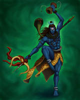 Shiva by Panickerz