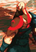 Kratos by Panickerz