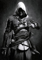 Edward kenway by aster1210