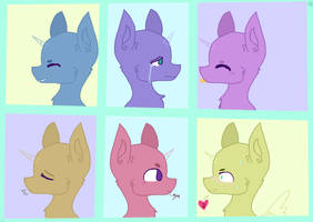 Mlp base- Emotions by DemonPuss