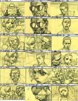 The Boondocks Story Board by kse332
