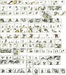 Legend of Korra thumb nails by kse332