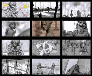 League of Legends Annie Origins Storyboard-1 by kse332