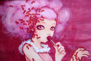 Cotton Candy Curly Cue by camilladerrico