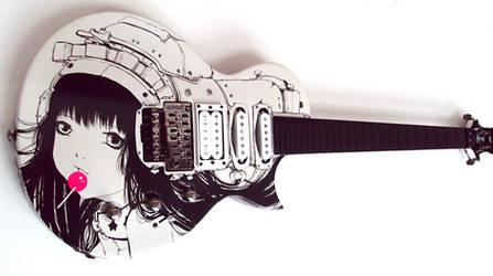 Custom Gibson Guitar by camilladerrico