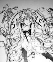 Hawken Art Piece Sneak Peek by camilladerrico