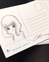Sketched postcard  by camilladerrico
