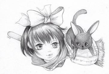 Kiki  by camilladerrico