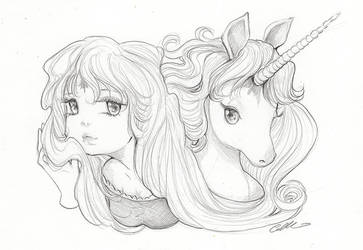 The Last Unicorn by camilladerrico