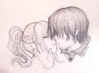 Bethyl Sketch by camilladerrico