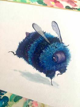 Galaxy Bee by camilladerrico