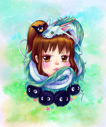 Spirited Away by camilladerrico