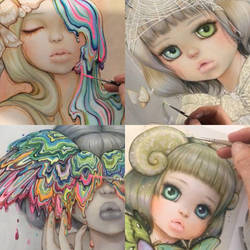 Hand Embellished Exclusives for SDCC2018 by camilladerrico