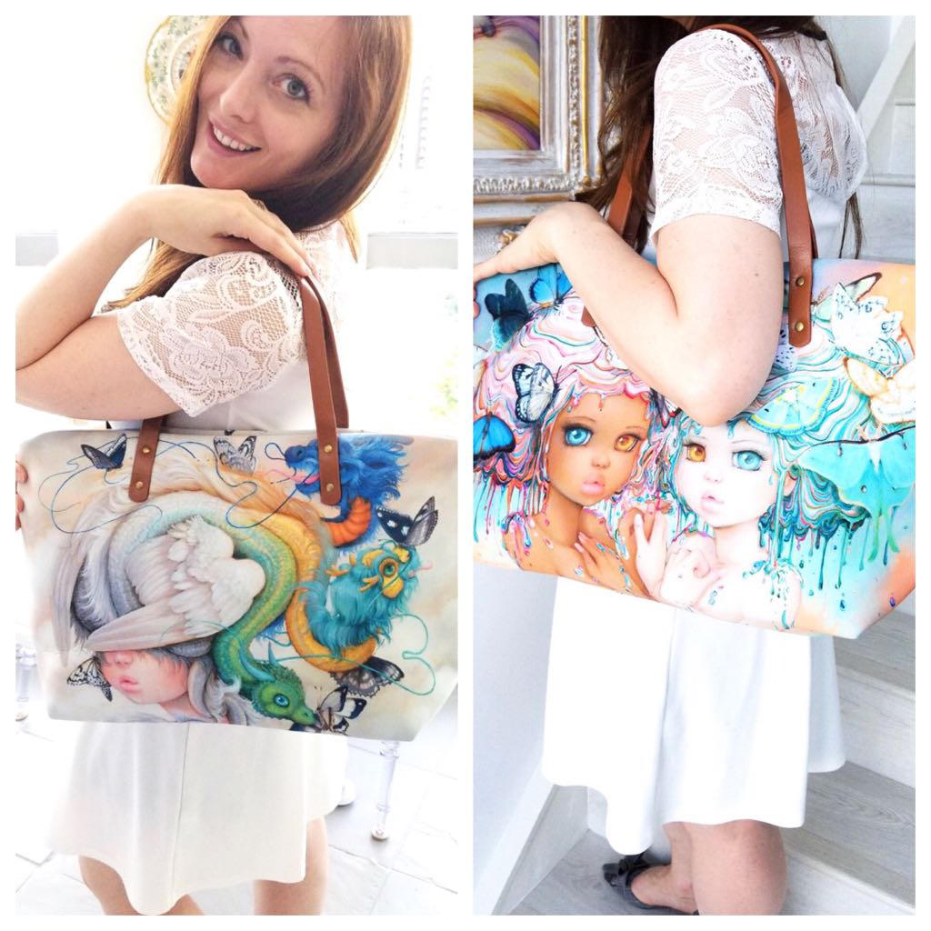 Harmonie And Hydie bags by camilladerrico