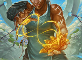 Gilded Lotus by Steamhat