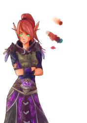 Ayshael - World of Warcraft by Nuskineta