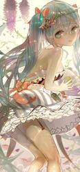 Hatsune miku by DahlLange