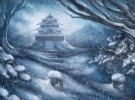 Heavy Snows by JWilsonIllustration